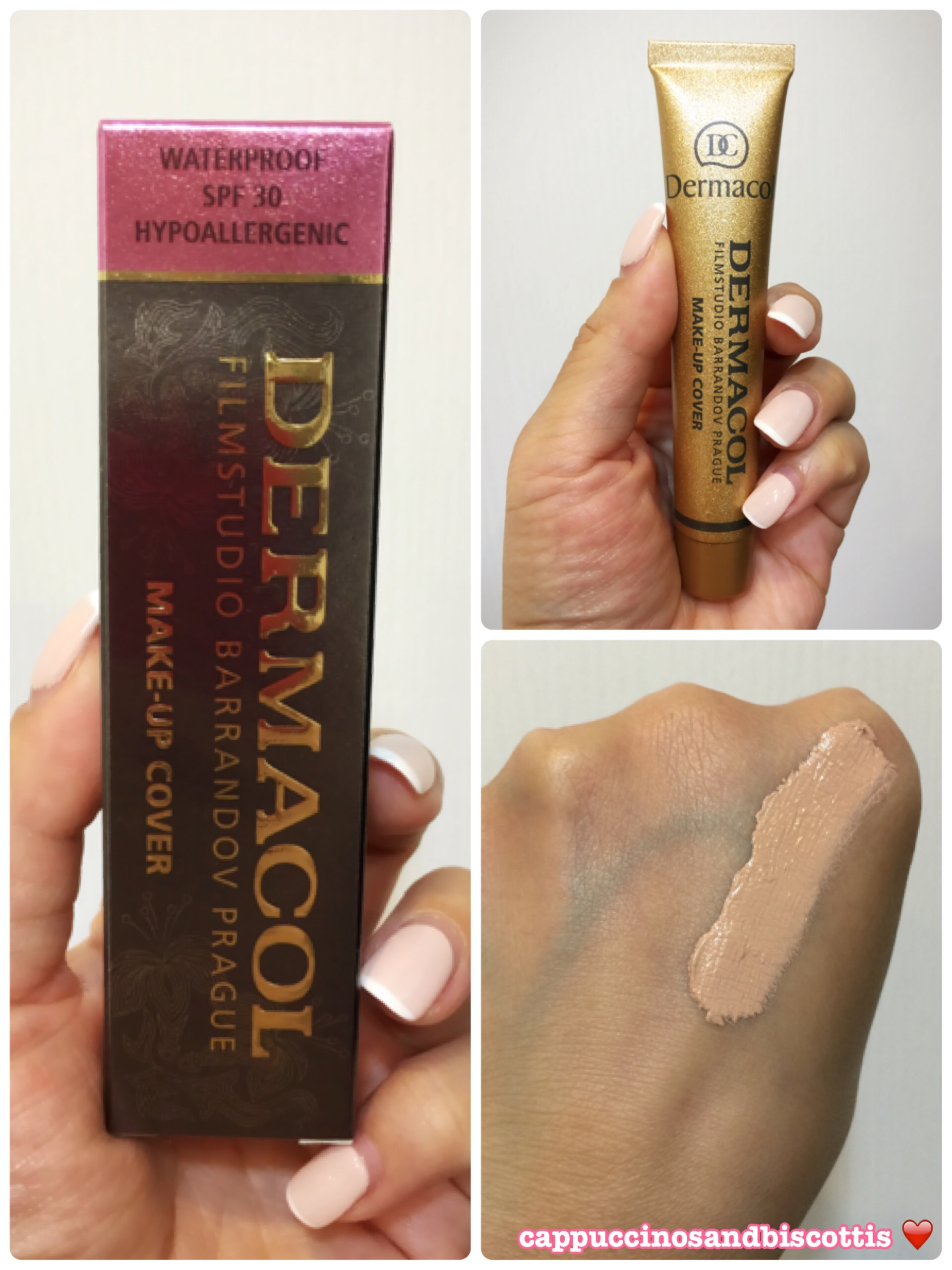 Dermacol Make Up Cover Foundation Review Cappuccinos And Biscottis